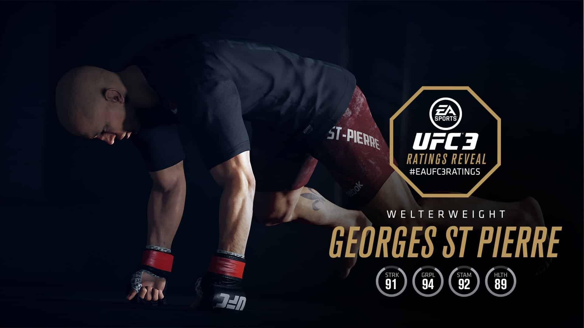 georges st pierre UFC 3