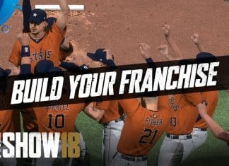 MLB The Show 18 Build Your Franchise