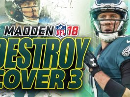 Madden 18 Destroy Cover 3