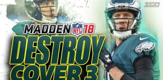 Madden 18 Destroy Cover 3