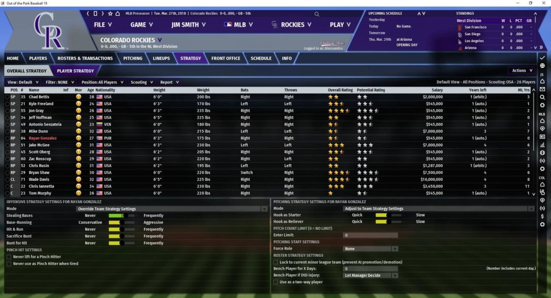 OOTP 19 Review