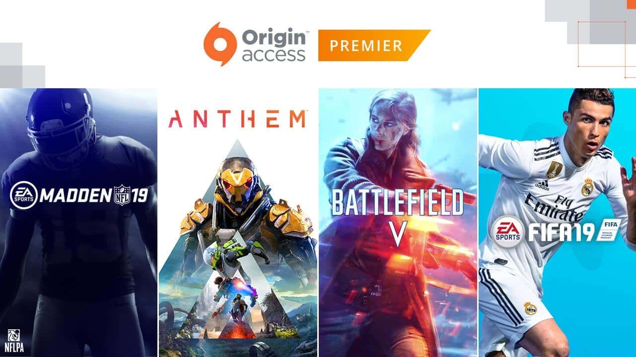 EA Origin Access Premier