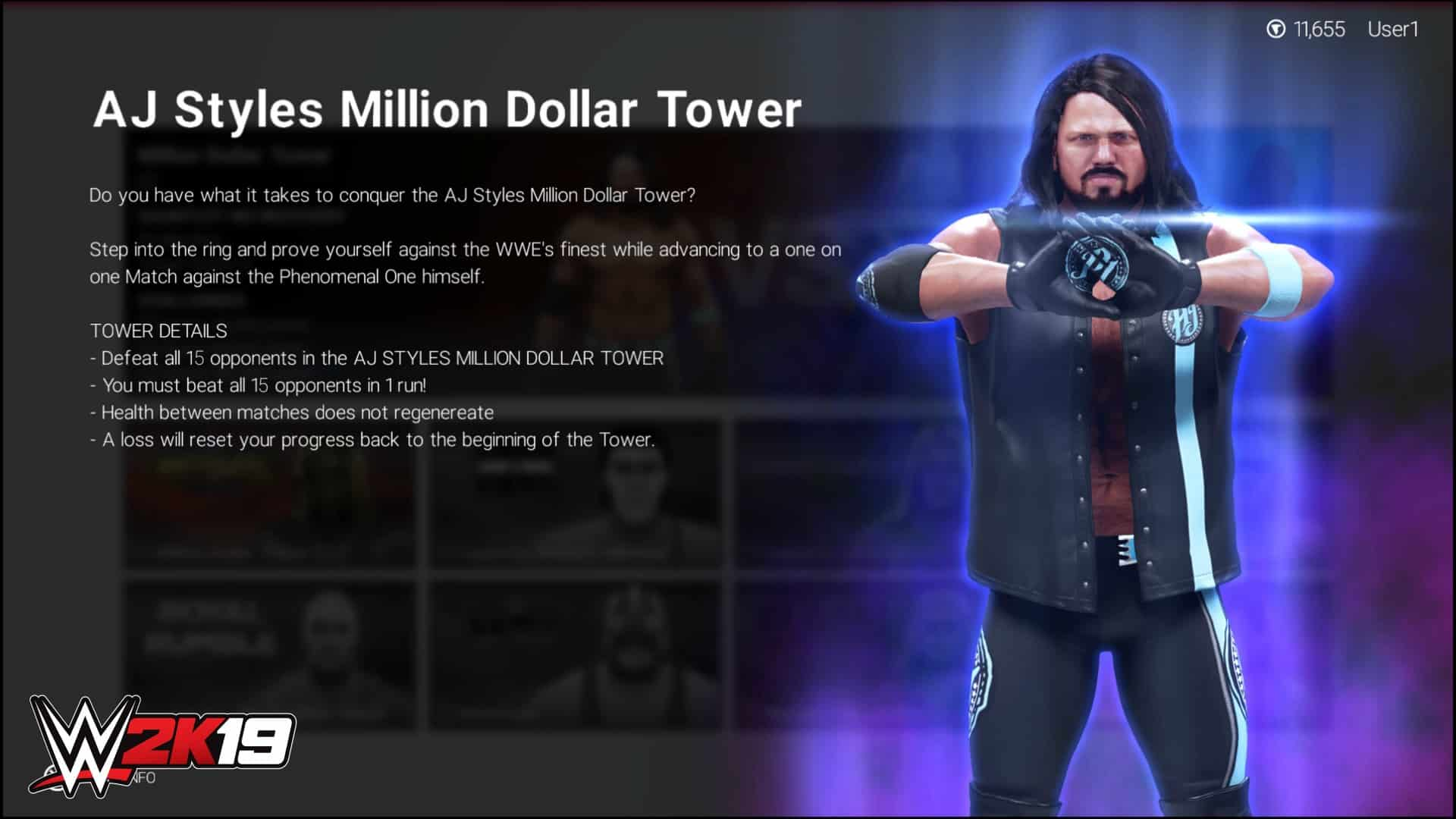 WWE 2K19 Introduces New 2K Towers Mode - Sports Gamers Online