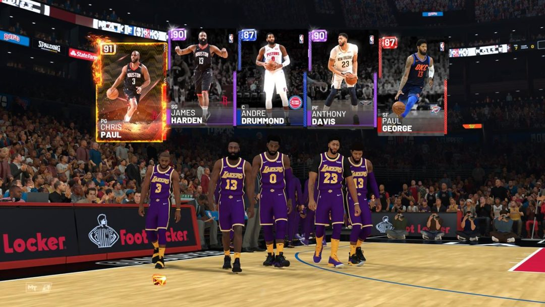 Nba 2k19 Myteam Cards Collections Packs Get A Face Lift Sports