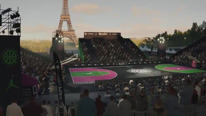 NBA Live 19 Court Creation