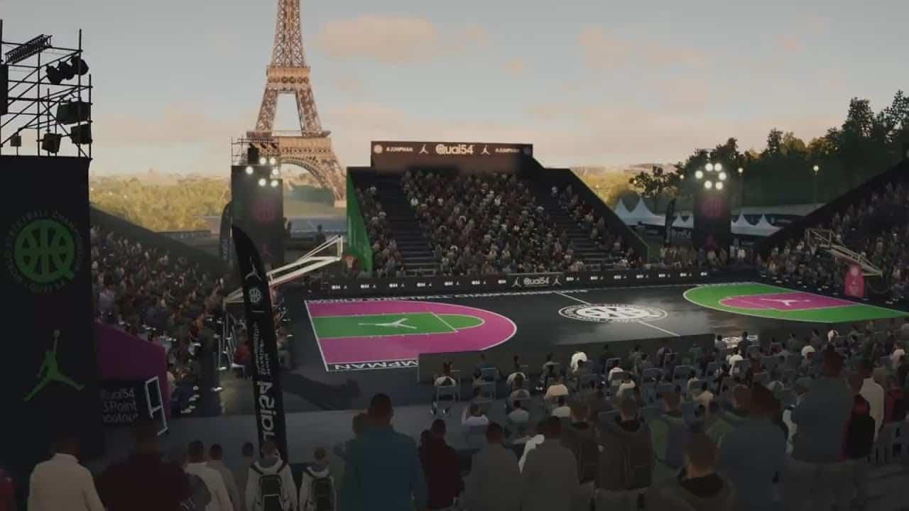 NBA Live 19 Court Creation