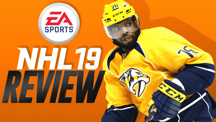 NHL 19 Review PK Subban