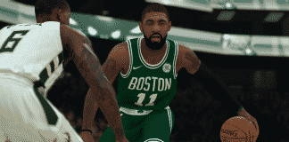 NBA 2K19 Kyrie Irving