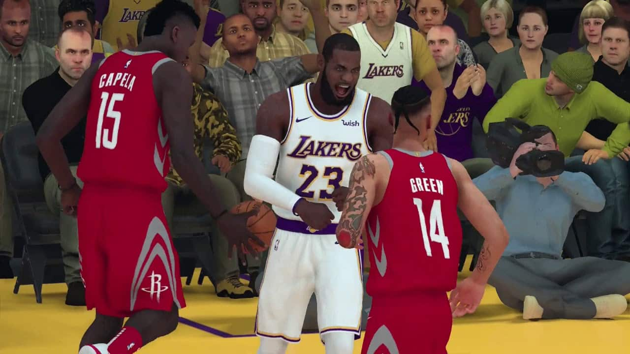 7816e515e90 Nino Samuel, AI producer for NBA 2K19, took to Facebook with a new blog  highlighting lots of new gameplay.