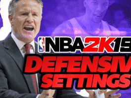 NBA 2K19 Defensive Settings Tutorial and Tips