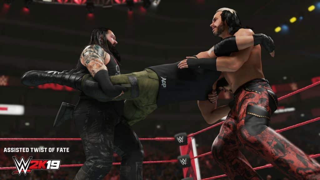 WWE 2K19 SGO Inside Drive