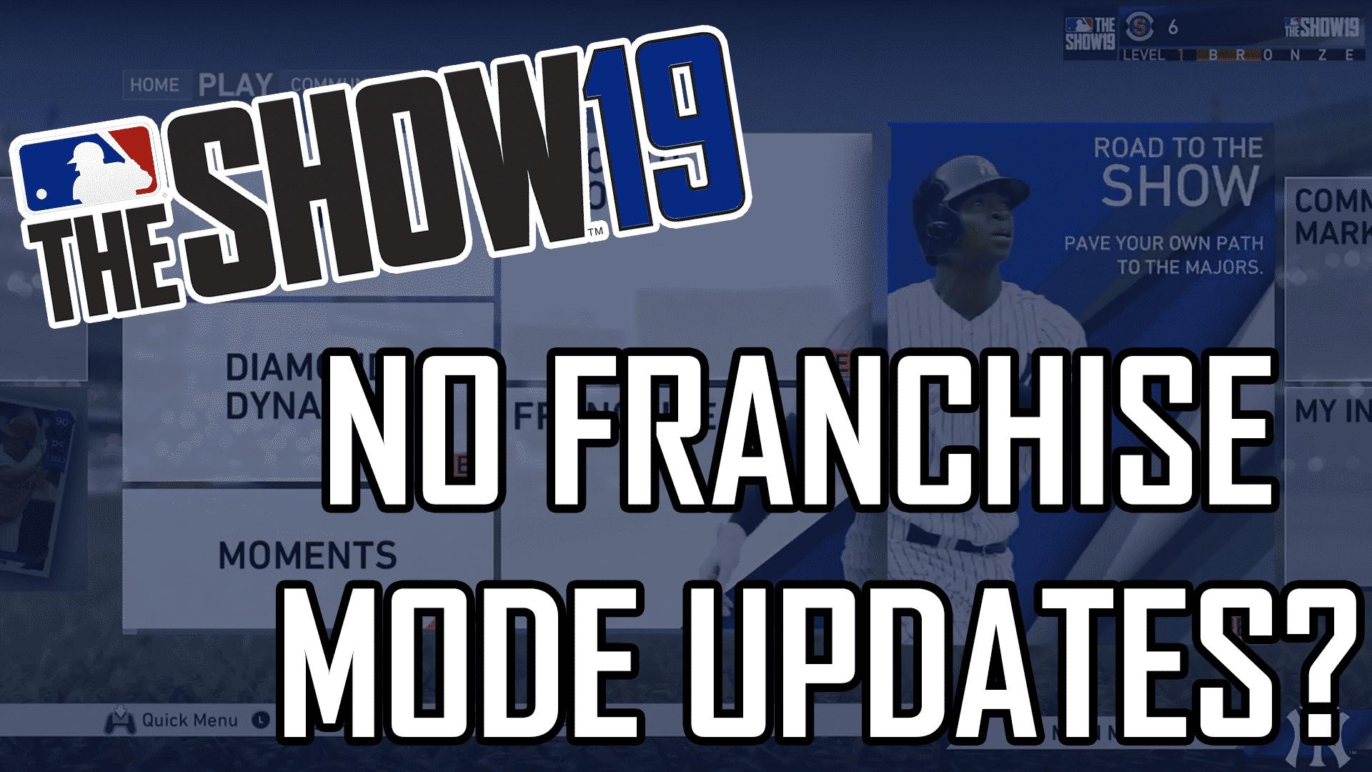 MLB The Show 19 Franchise Mode