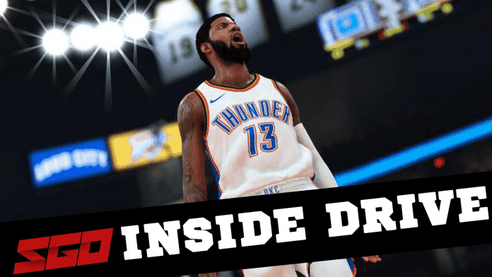 NBA 2K19 Inside Drive