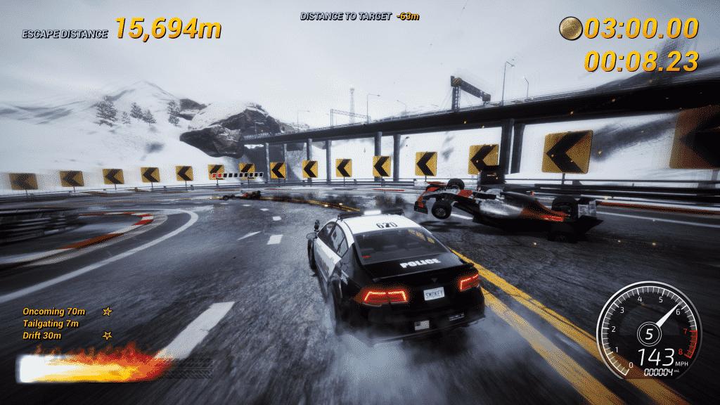 Dangerous Driving Pursuit