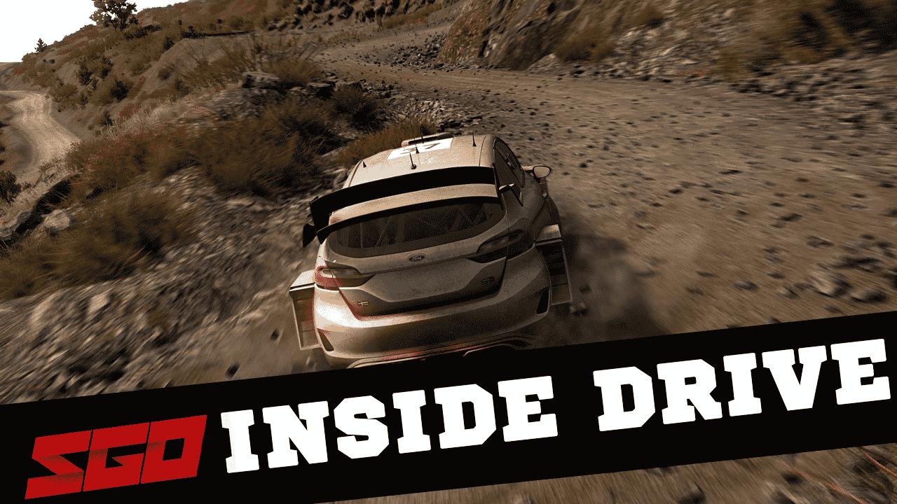 WRC 8 Inside Drive
