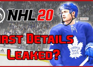 NHL 20 Leak
