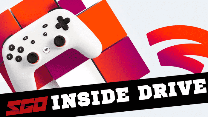 PS5 Stadia Inside Drive