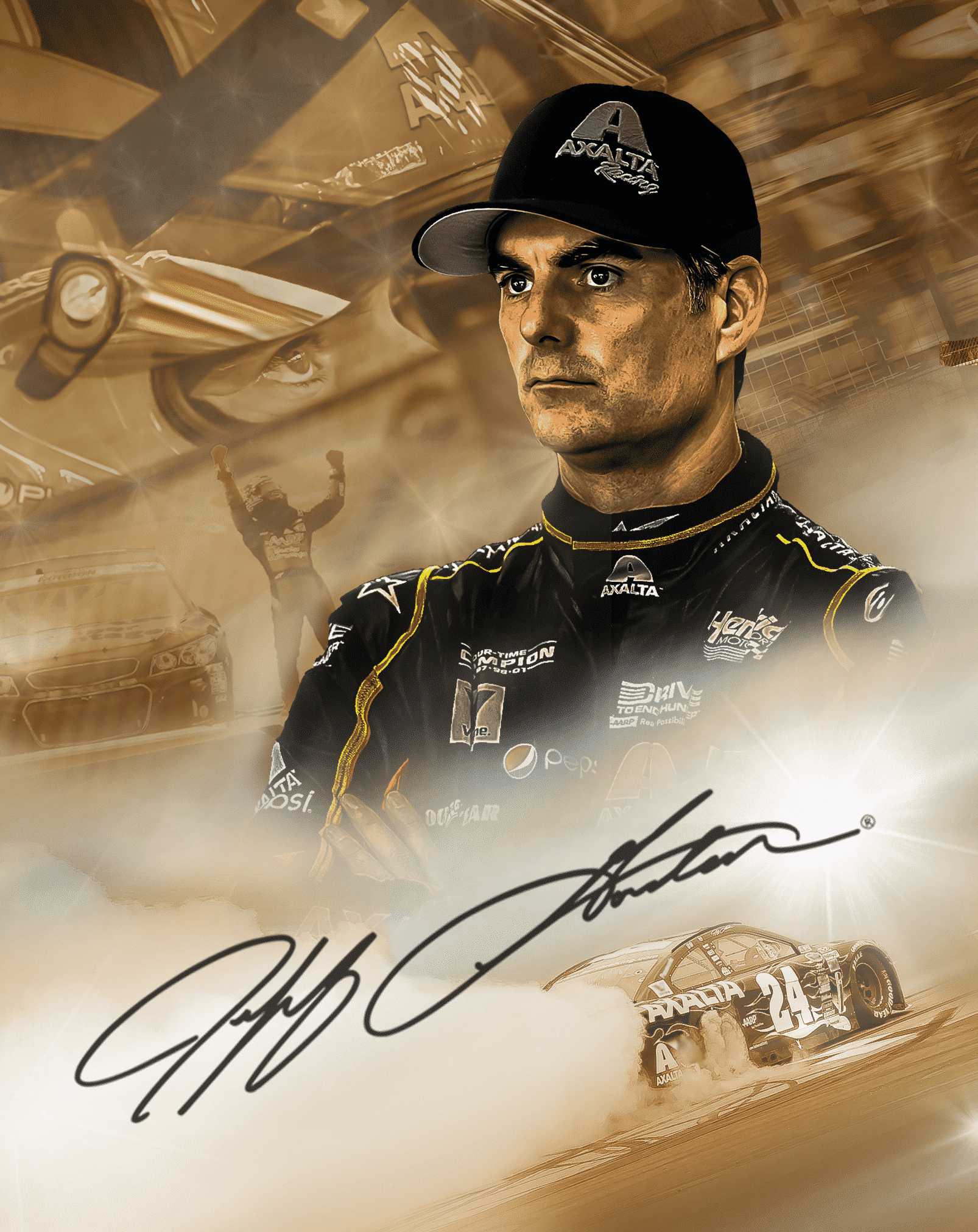 """The """"Gold Edition"""" featuring Jeff Gordon"""