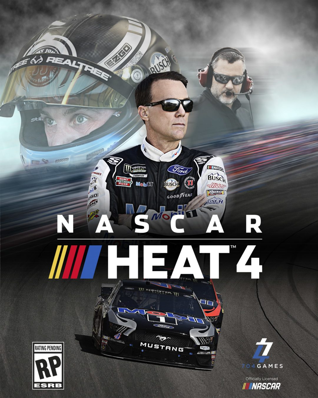 A look at the official box art for NASCAR Heat 4