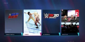 WWE 2K20 lobbies
