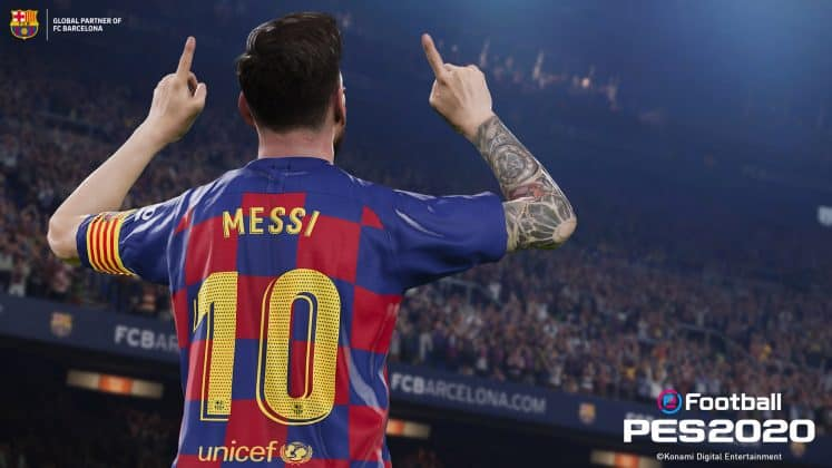 eFootball PES 2020 Messi 3