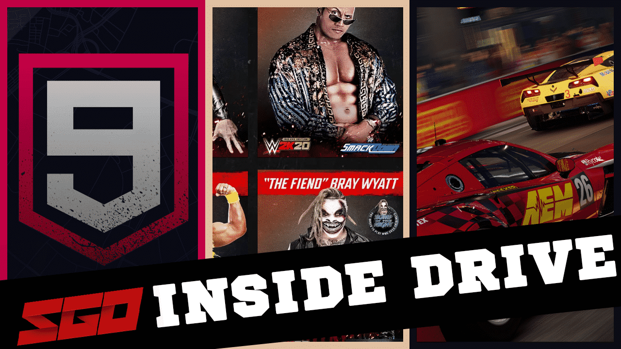 WWE 2K20 Asphalt 9 InsideDrive