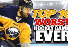 Top 10 Worst Hockey Game