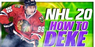 NHL 20 How To Deke