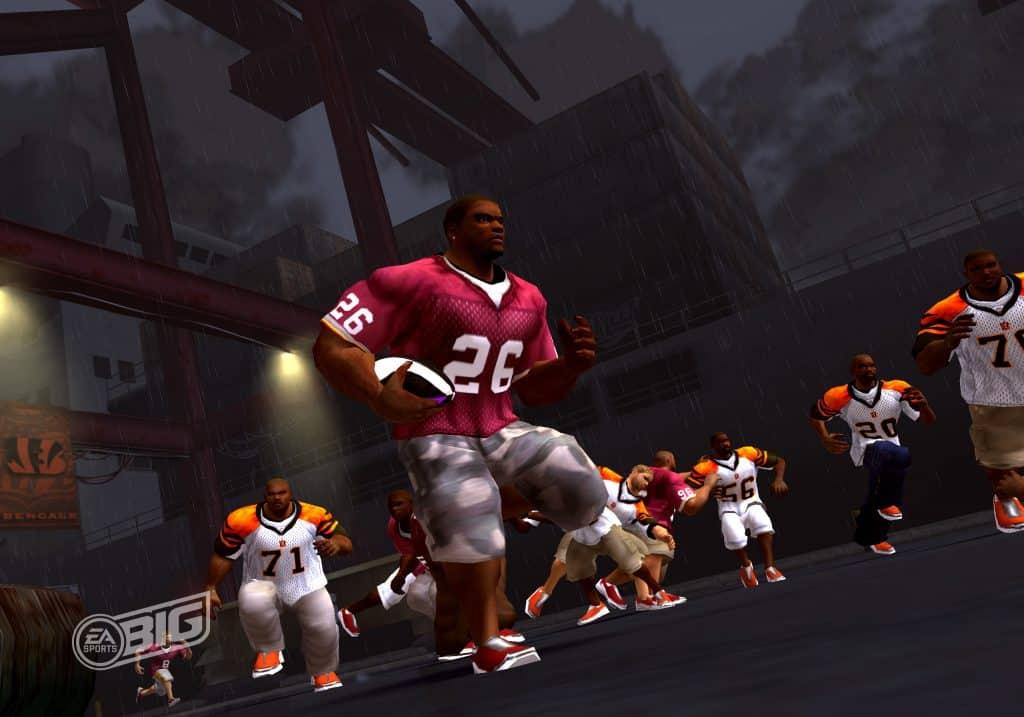 NFL Street 3 Sports Games