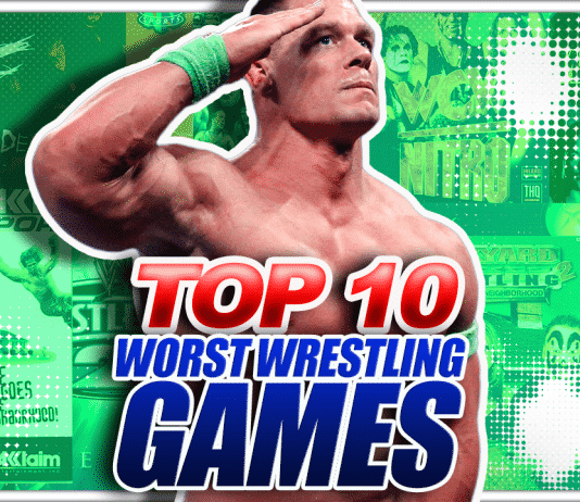 Top 10 Worst Wrestling Games