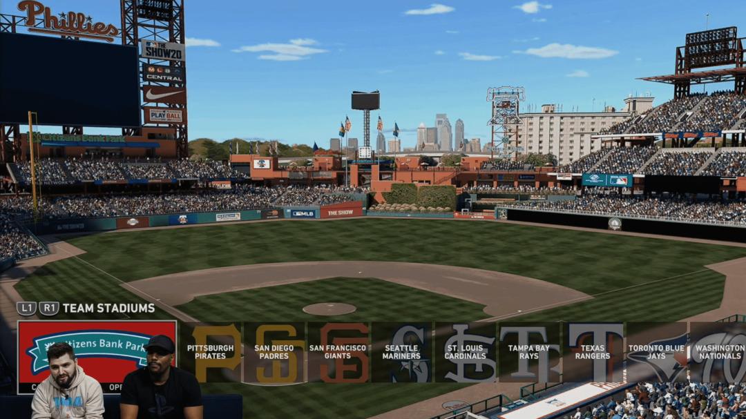 MLB The Show 20 Stadium Selection