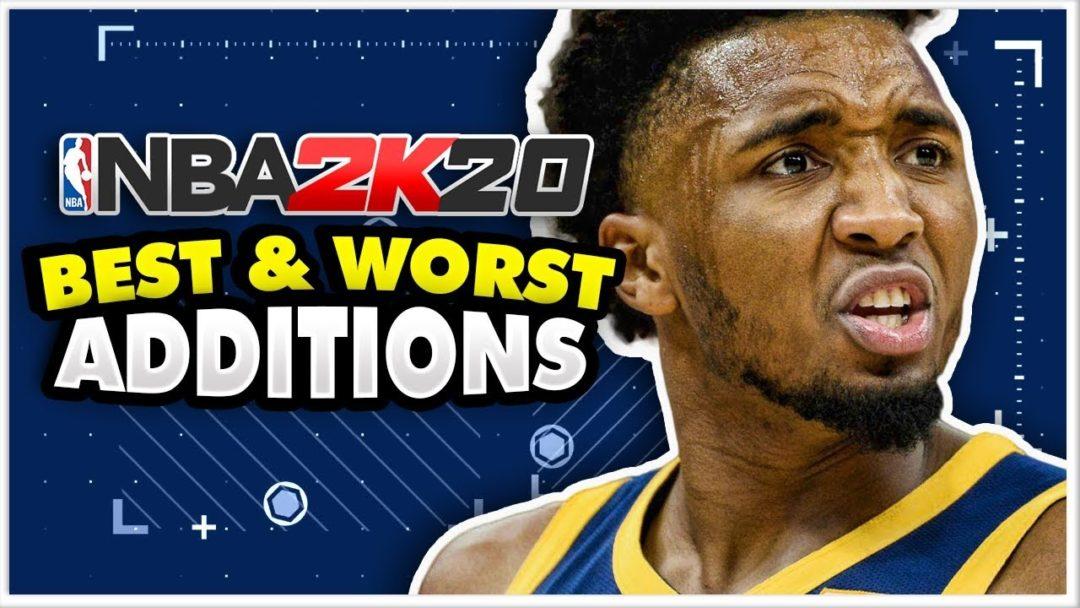 NBA 2K20 Additions