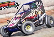 Tony Stewart Sprint Car Racing