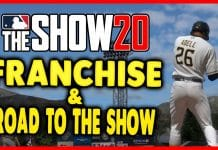 MLB The Show 20 Franchise and Road to the Show