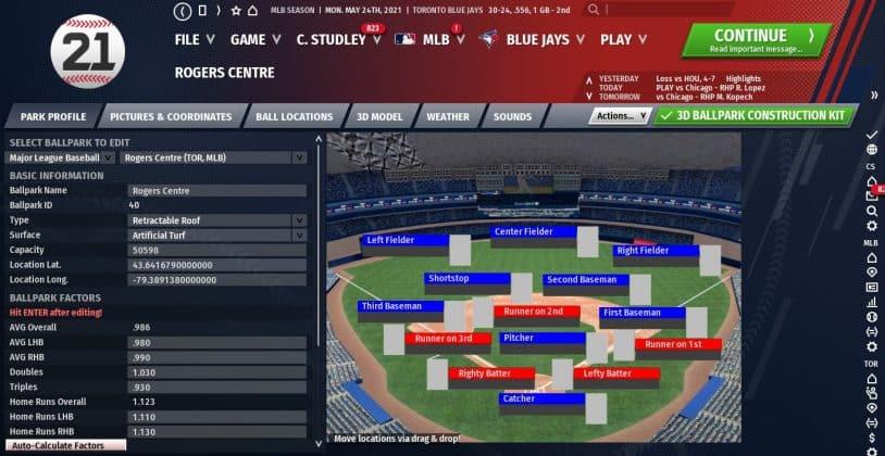out of the park baseball 21 Screenshot
