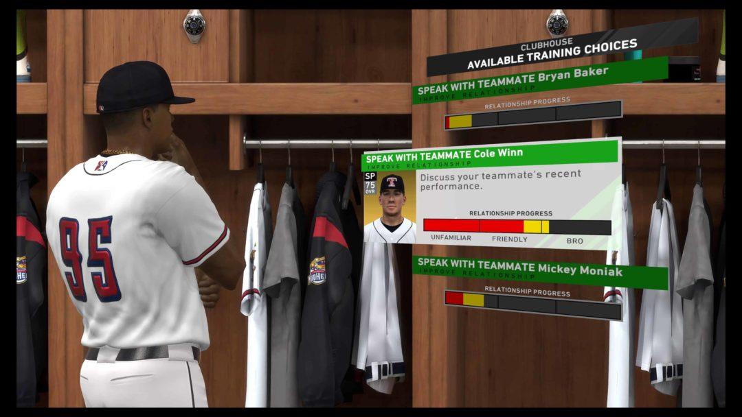 MLB The Show 20 RTTS