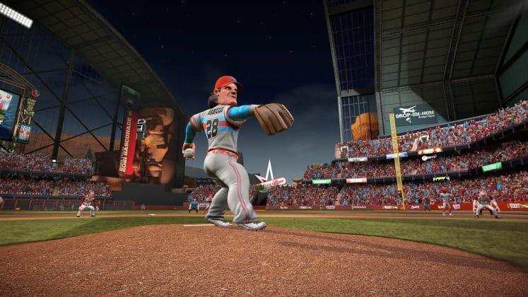 Super Mega Baseball 3 pitcher