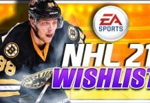 NHL 21 Wishlist
