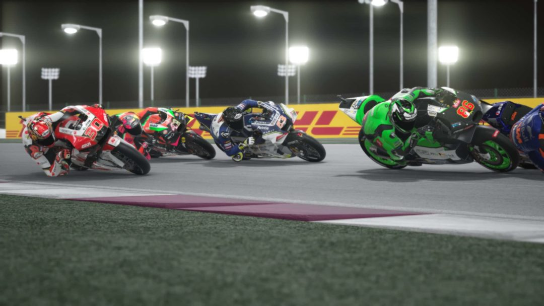 MotoGP 20 gameplay