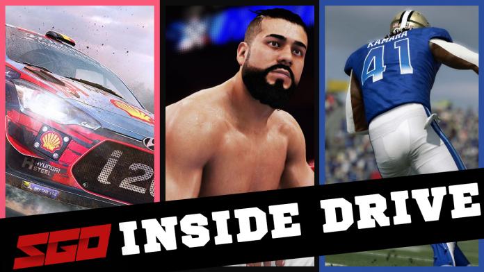 WWE 2K WRC 8 Inside Drive