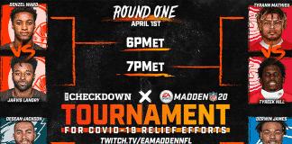 The Checkdown Madden 20