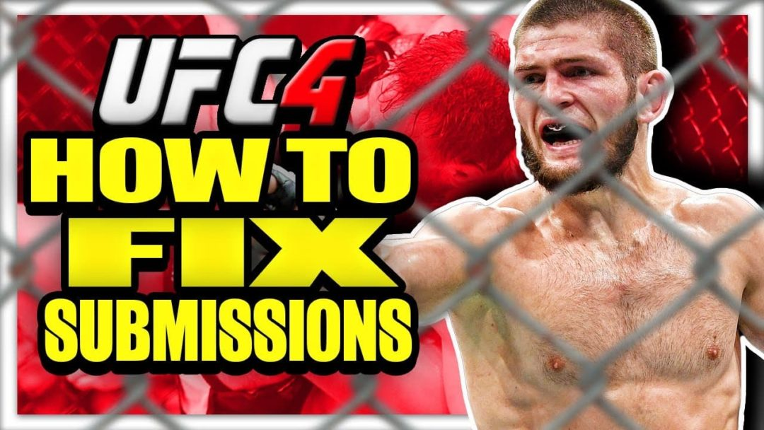 EA Sports UFC 4 Submissions