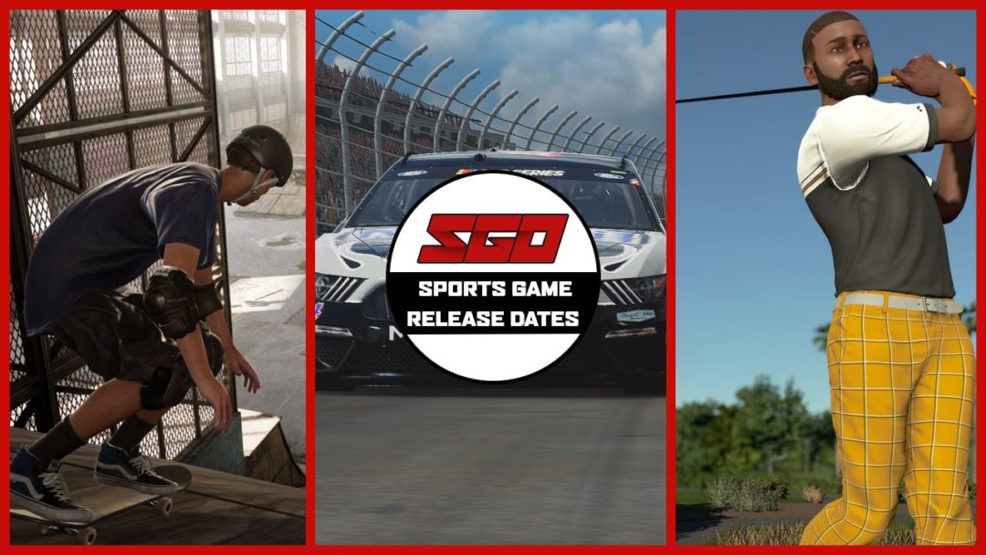 upcoming sports game release dates