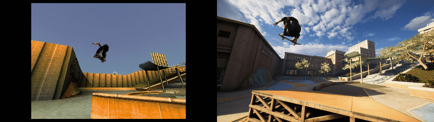 Tony Hawk's Pro Skater 1 & 2 Remastered