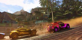 Dirt 5 Gameplay Screen