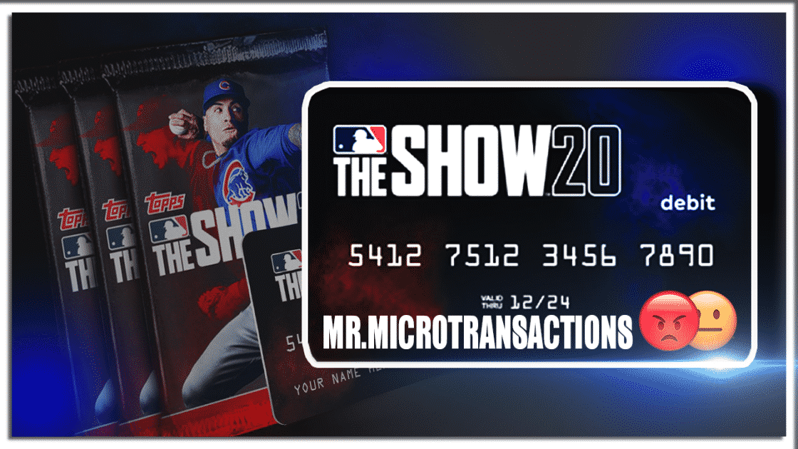 MLB The Show 20 Debit Card
