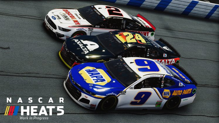 Chase Elliot NASCAR Heat 5