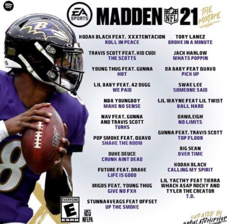 Madden 21 Soundtrack