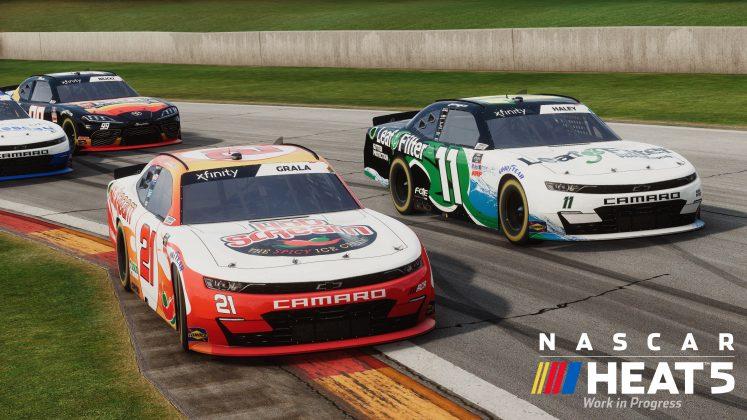 NASCAR Heat 5 Road America