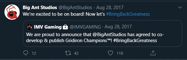 Gridiron Champions Developer